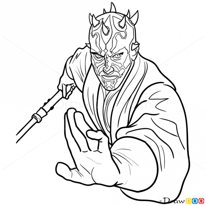 How To Draw Darth Maul Star Wars How To Draw Drawing Ideas Draw Something Drawing Tutorials Portal Darth Maul Drawings Drawing Tutorial