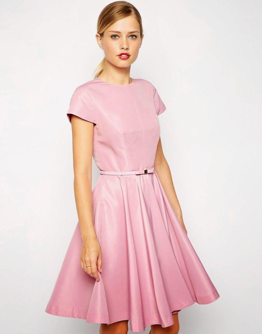 Hermosos vestidos de moda para fiestas | Vestidos y Tendencias ...