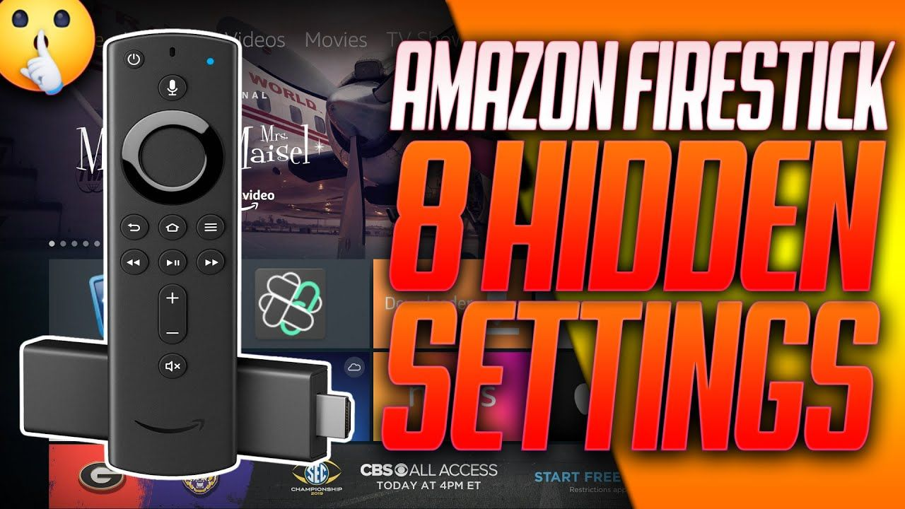 Amazon Firestick 8 More Hidden Settings You Need To Know About