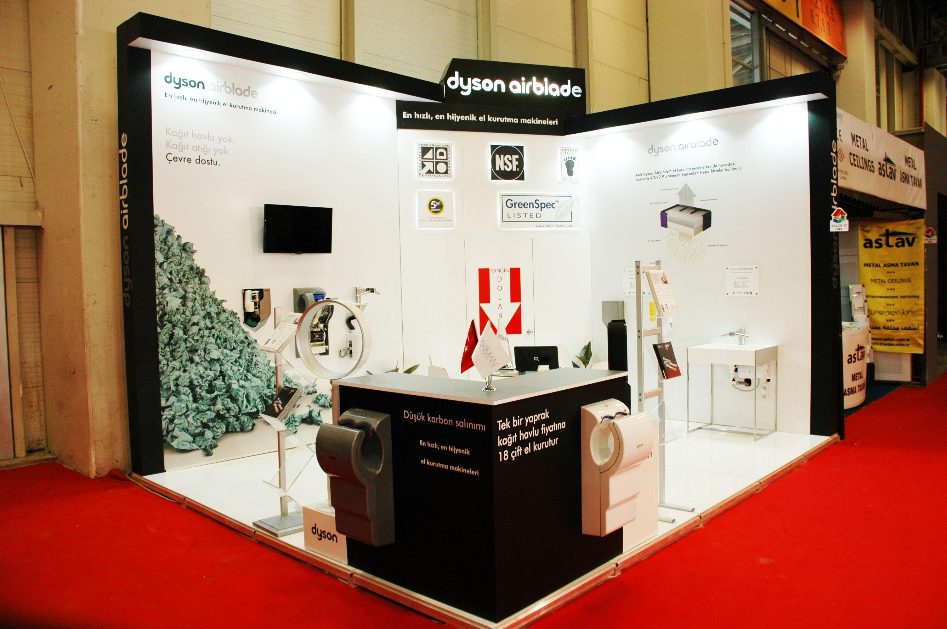 Exhibition Stand Stant : Yapifuari turkeybuild