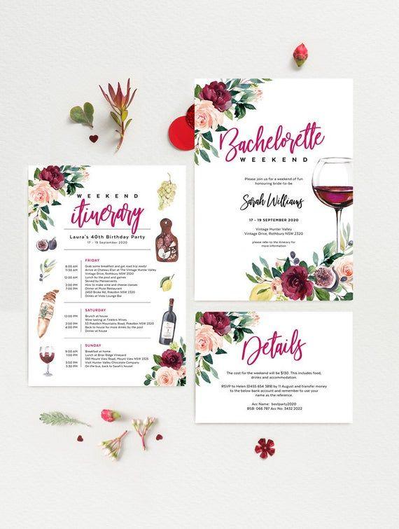 Wine Tasting Bachelorette Party Invite Wine Tasting Bridal Shower Invitation Corjl Wine Party Invite INSTANT DOWNLOAD Editable Template