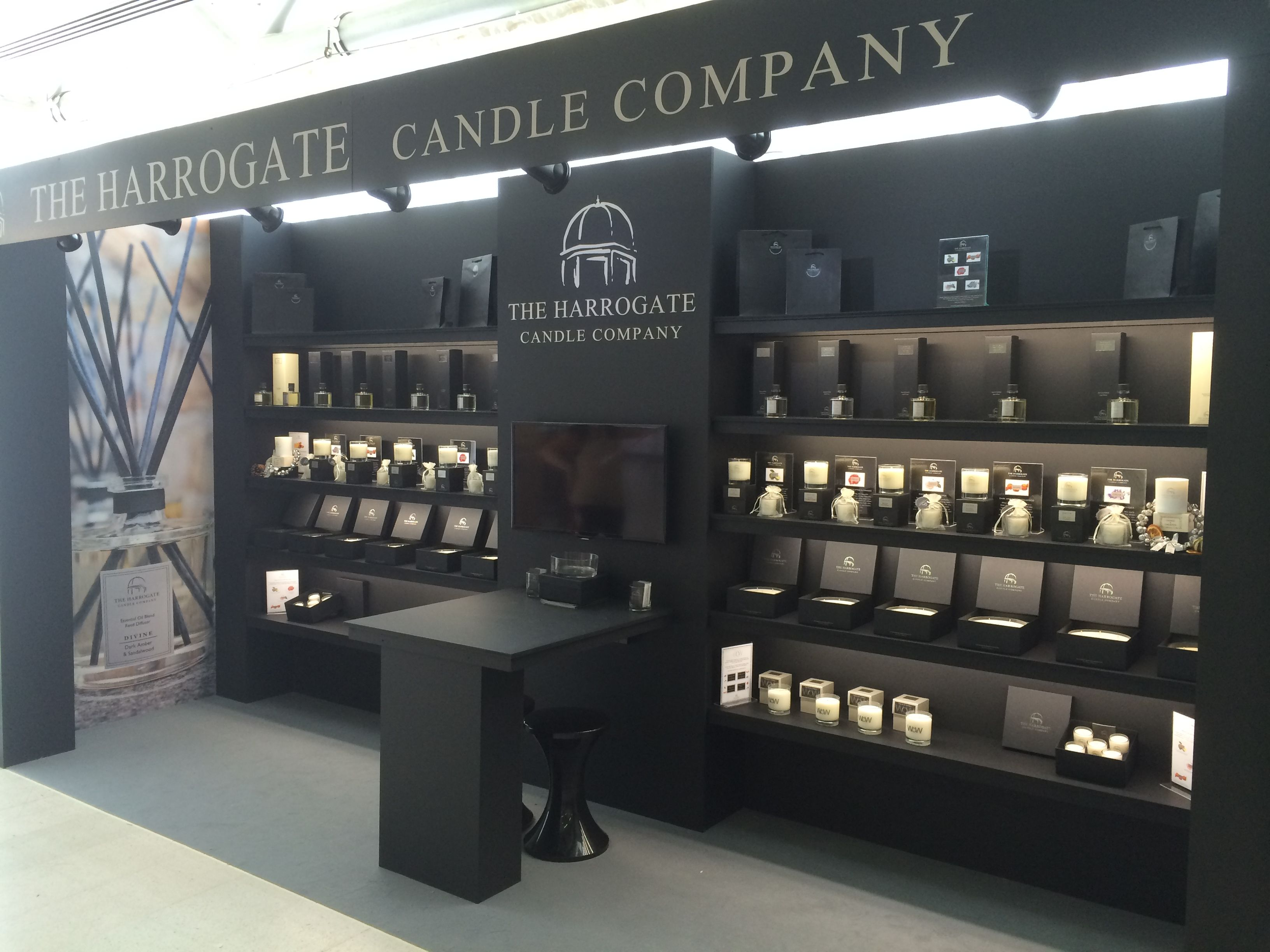 Exhibition Stand Design Harrogate : The ladies at harrogate candle company did
