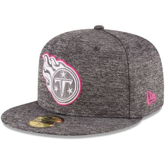 ae98ee11 ... where to buy mens tennessee titans new era heather gray 2016 breast  cancer awareness sideline 59fifty