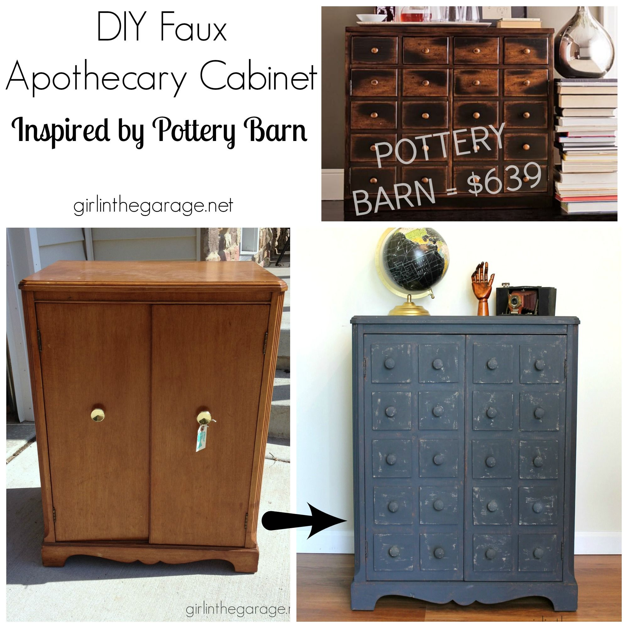 apothecary style furniture. Faux Apothecary Cabinet - Pottery Barn Inspired Makeover Style Furniture O