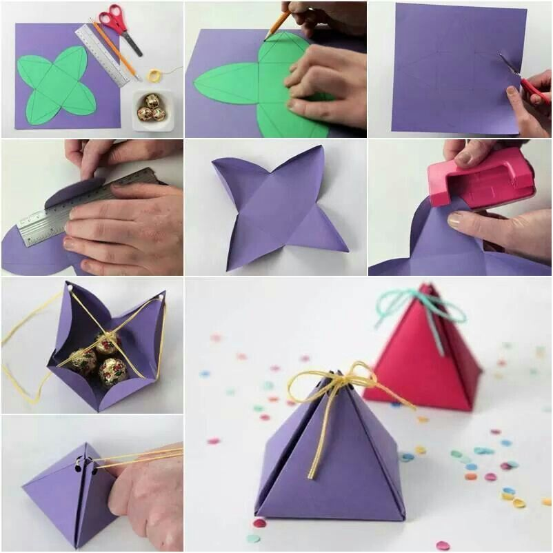 Simple Small Gift Bag Gift Packaging Diy Paper Crafts Diy Easy