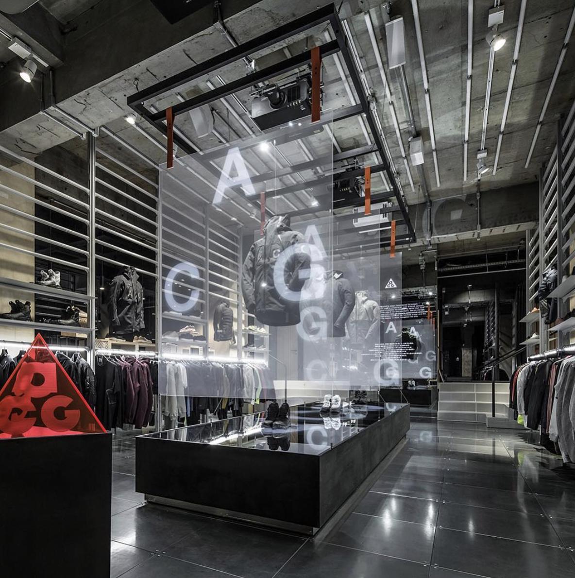 5e84a3337c NIKE LAB TOKYO | NIKE in 2019 | Retail store design, Retail design ...