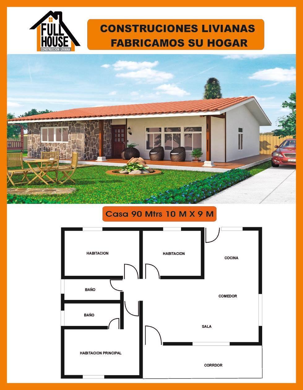 Full House Prefabricados Casas prefabricadas economicas
