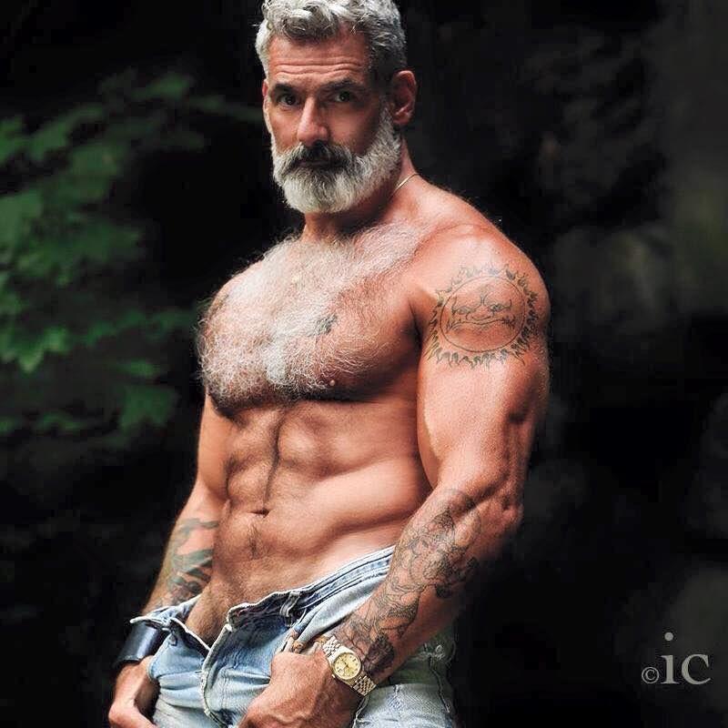 Sexy Old Gay Man