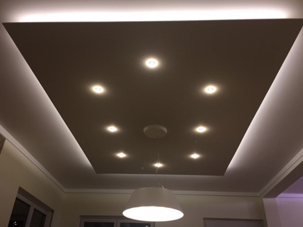Abgehängte Decke Mit Led deckensegel lisego quadro | lampen | false ceiling design, kitchen