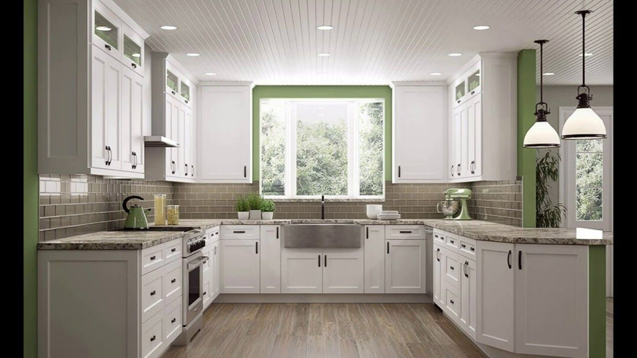 Kitchen Ideas Home Depot In 2020 White Shaker Kitchen White Shaker Kitchen Cabinets Classy Kitchen