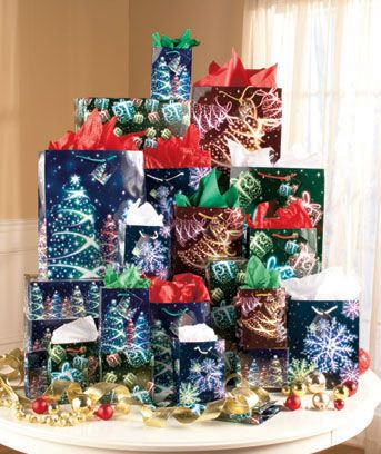 32 pc holiday gift bag sets get the decorative bags and wrapping paper you need to present your holiday gifts in style with this 32 piece set this value - Holiday Value Decorative Christmas Set