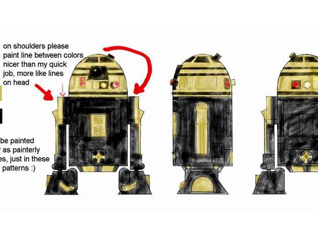 The Clone Wars concept art