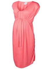 MARLY S/S MIX DRESS, Calypso Coral, list