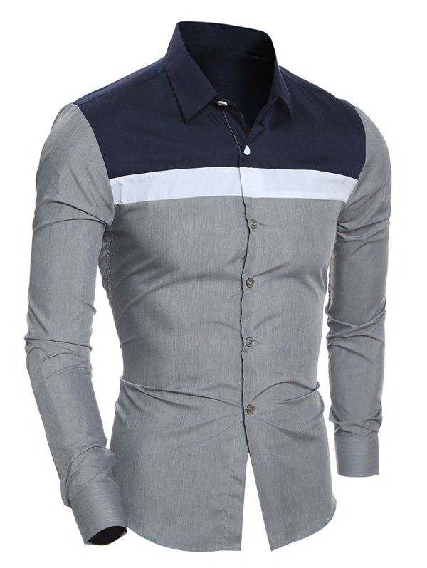 b99ee90e1f Solid single stripe shirt | Solid single stripe shirt in 2019 ...