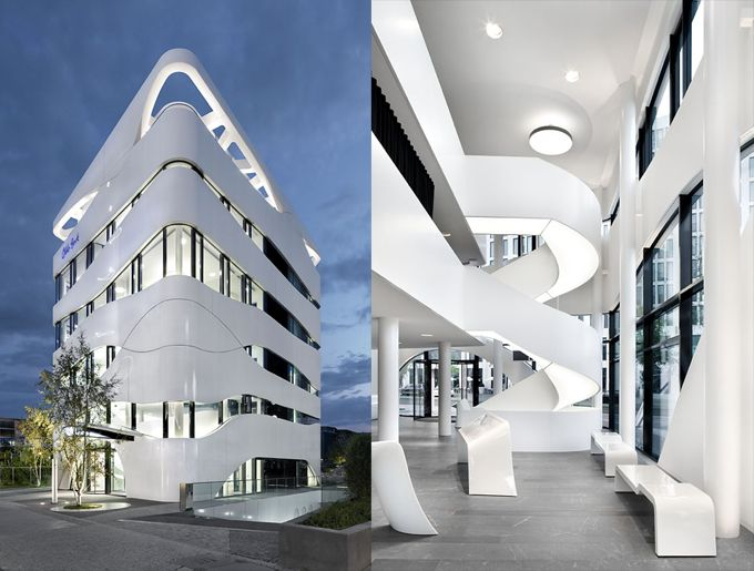 Technology center medical science berlin architecture