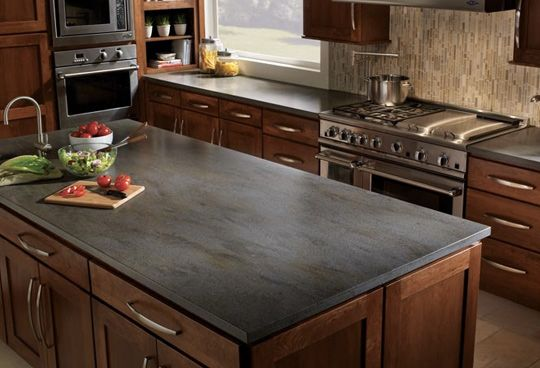 The Ultimate Guide To Countertops Slate Kitchen Kitchen Remodel