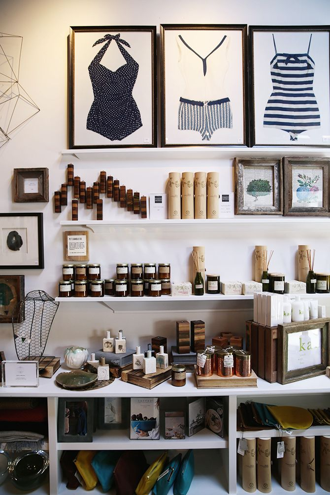 Maker & Moss in Hayes Valley, San Francisco // via Spotted SF