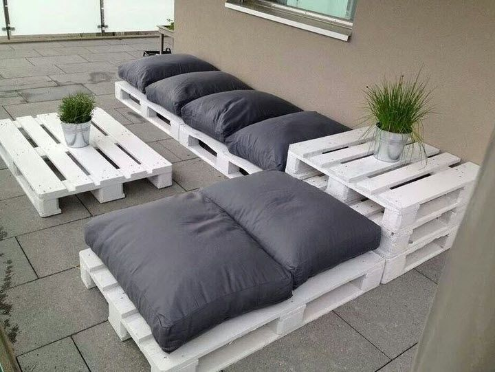 13 Outdoor Pallet Seating Ideas Pallet furniture designs - designer gartensofa indoor outdoor