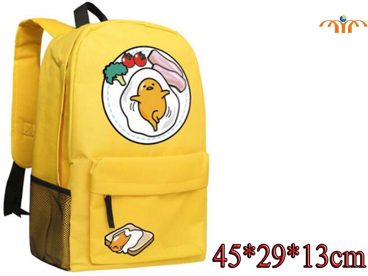 Gudetama Anime Oxford Cloth Backpack Bag Backpack Outfit