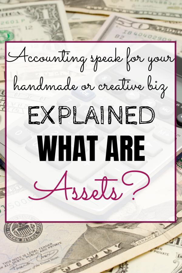 AssetsAccounting Speak Your Handmade Business