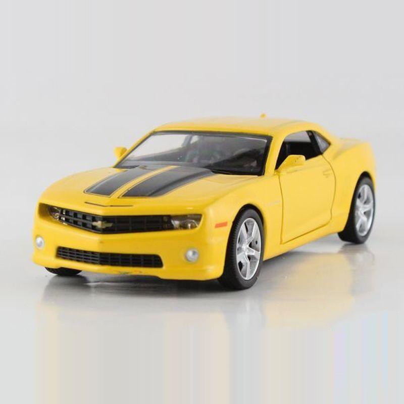 freeshipping ocuk uni fortune chevrolet camaro bumblebee modeli araba 136 5 in diecast chevrolet camaromodel carkids