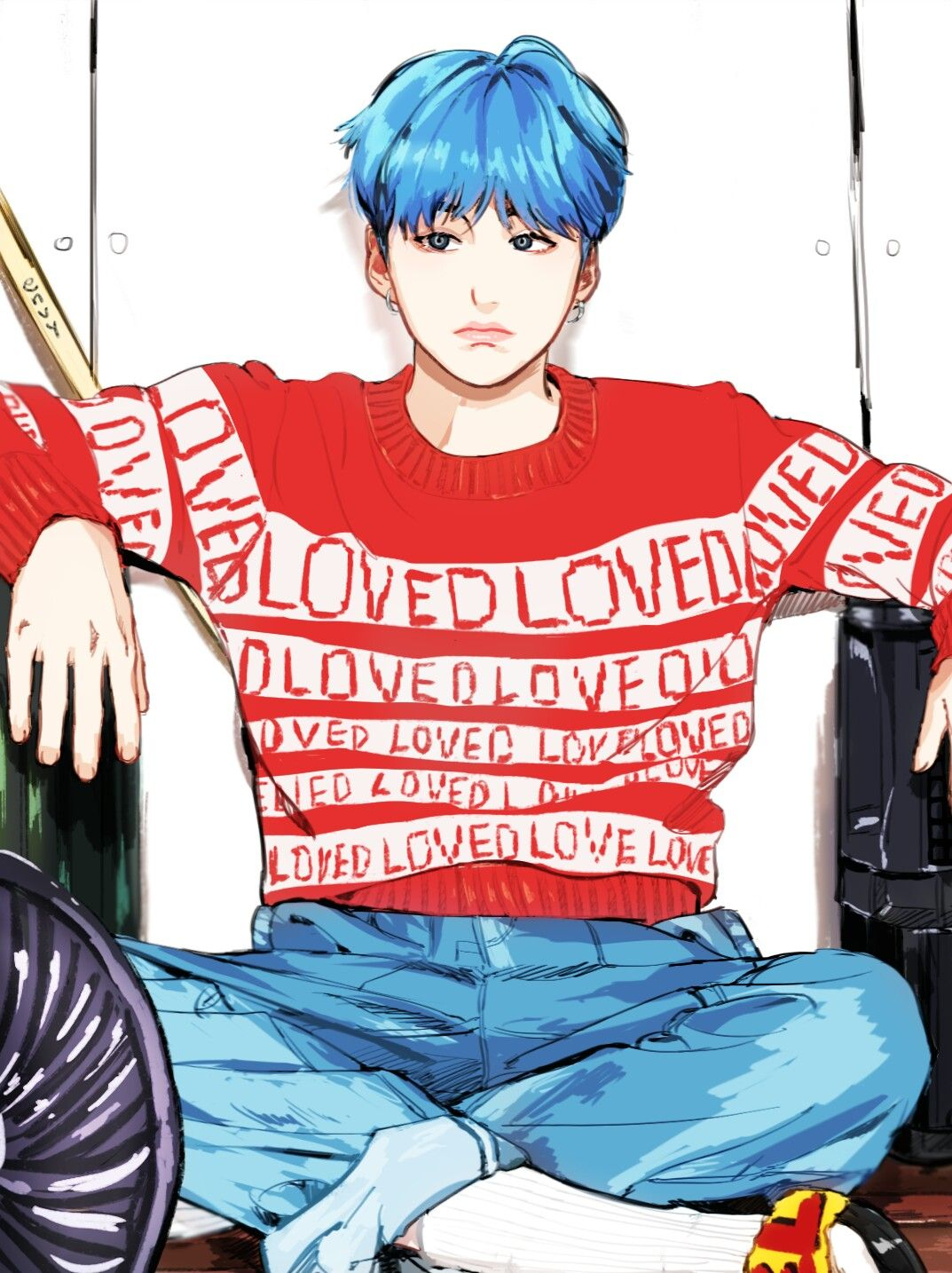Yoongi Bts fanart ♡ FanArt Pinterest Yoongi bts