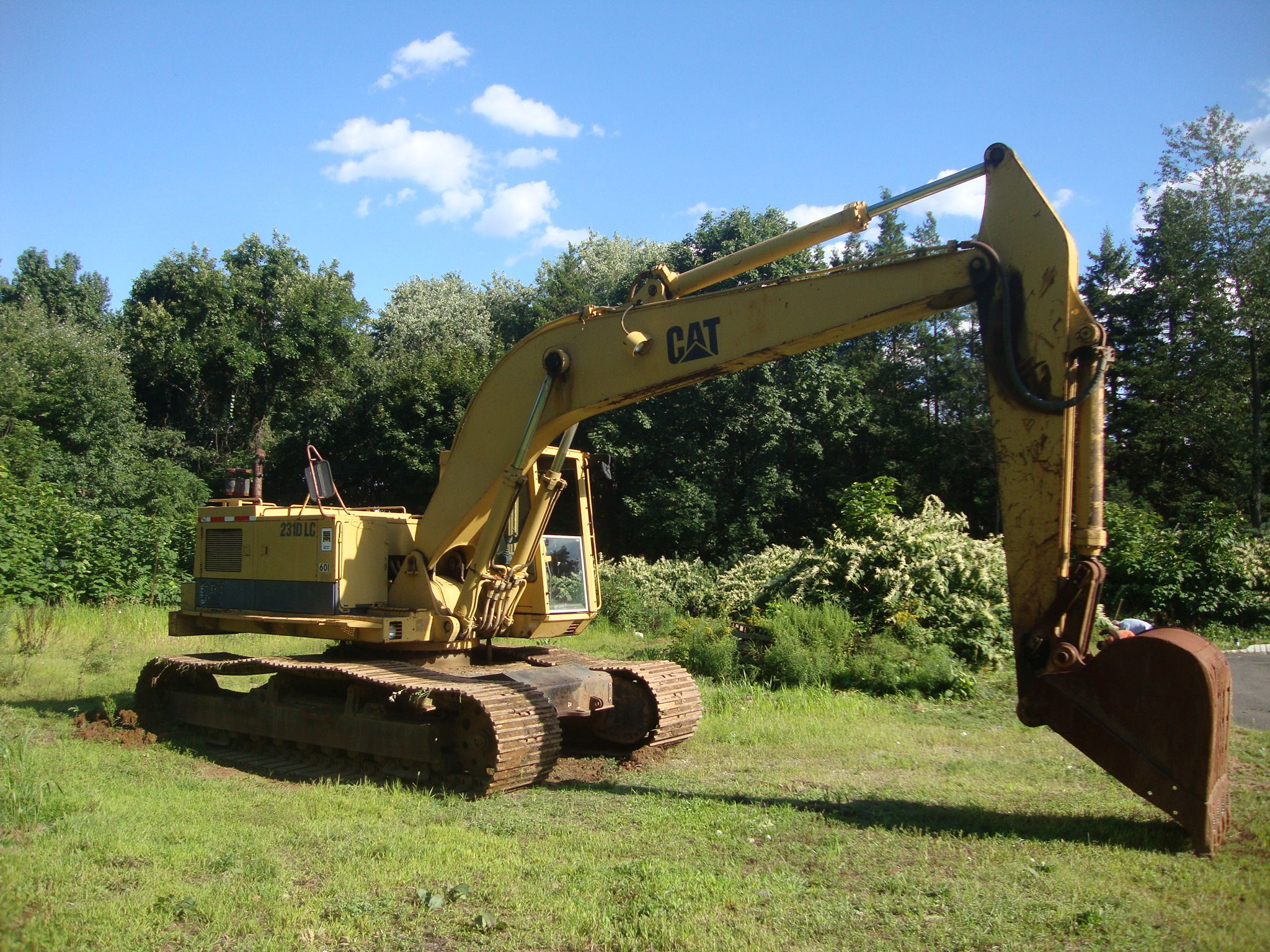 Cat 231 Monster Pillar 225 Cab with 235 undercarriage 3208