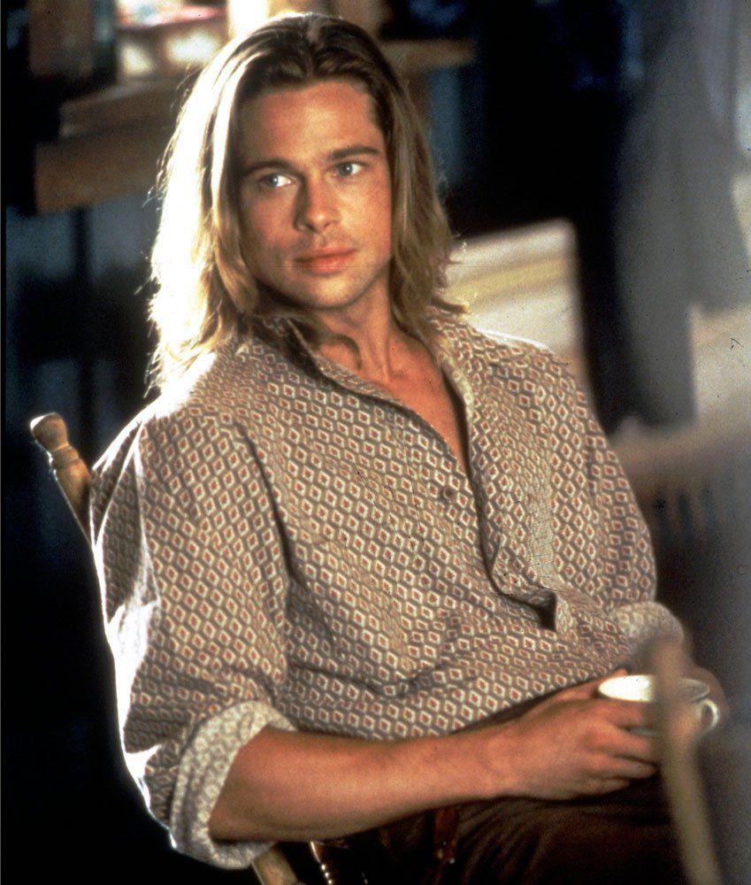 Resultado De Imagem Para Brad Pitt Young Brad Pitt Long Hair Brad Pitt Long Hair Styles