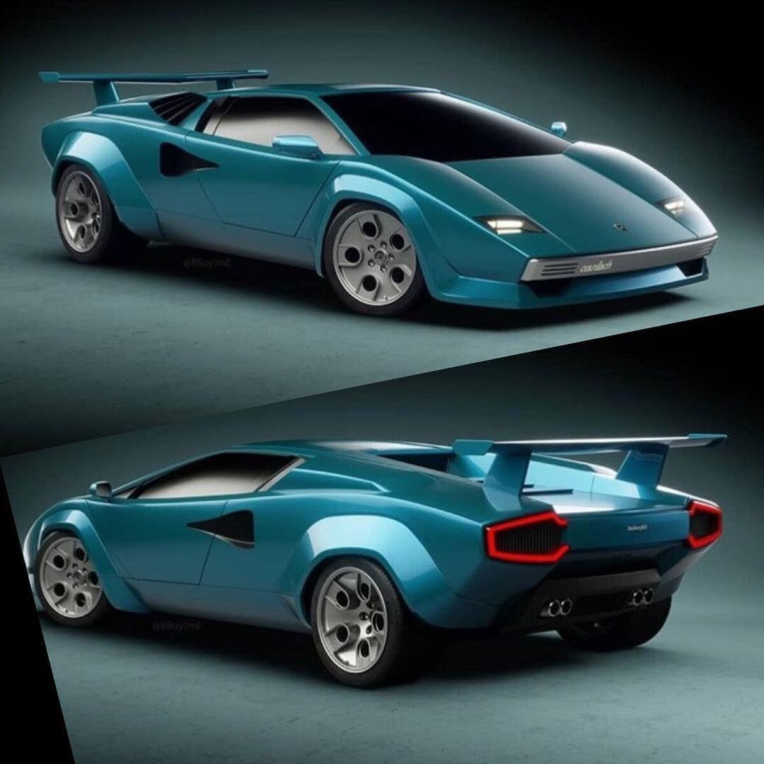 Lamborghini Countach 2018 Concept Design Created By Bboyjme Jimmy