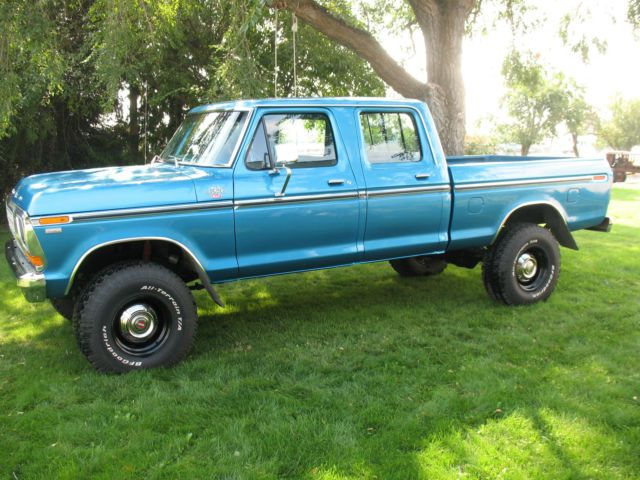 1979 Ford F250 4x4 Crew Cab Xlt For Sale In Colbert Washington