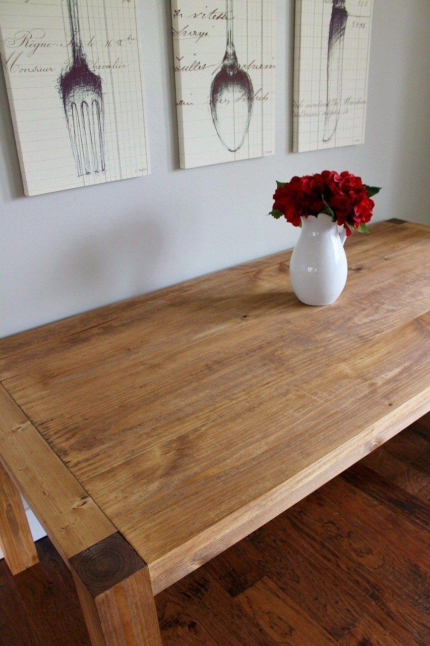 How To Build A Modern Farmhouse Dining Table Modern Farmhouse Table Wooden Dining Tables Diy Dining Table