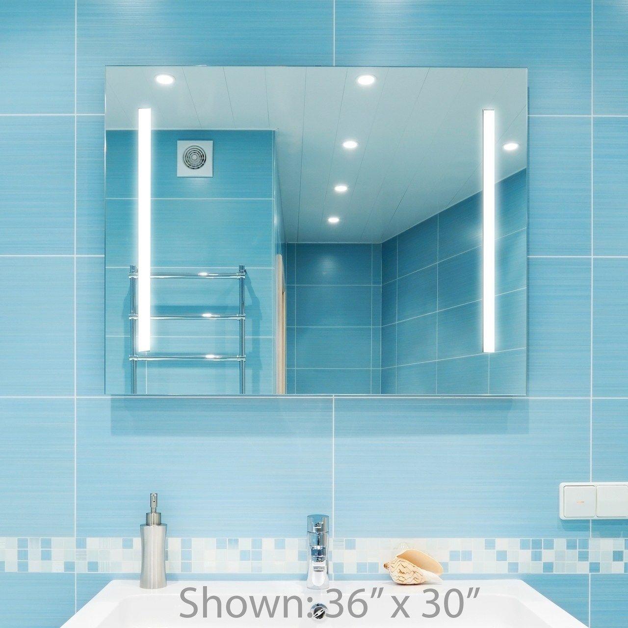 Dyconn Faucet Catella Wall Mounted Vanity Bathroom Led Backlit Mirror 30x36 Clear Wall Moun Modern Bathroom Mirrors Bathroom Vanity Mirror Bathroom Mirror [ 1280 x 1280 Pixel ]