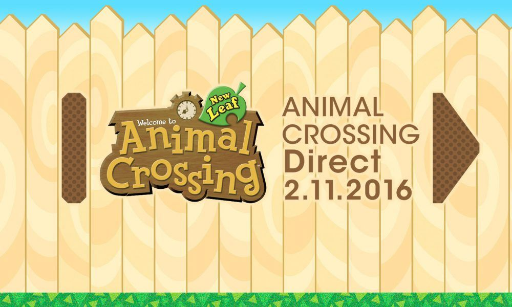 Animal Crossing Direct hoy a las 15:00 horas