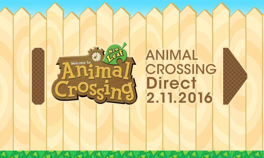 Animal Crossing Direct hoy a las 15:00 horas
