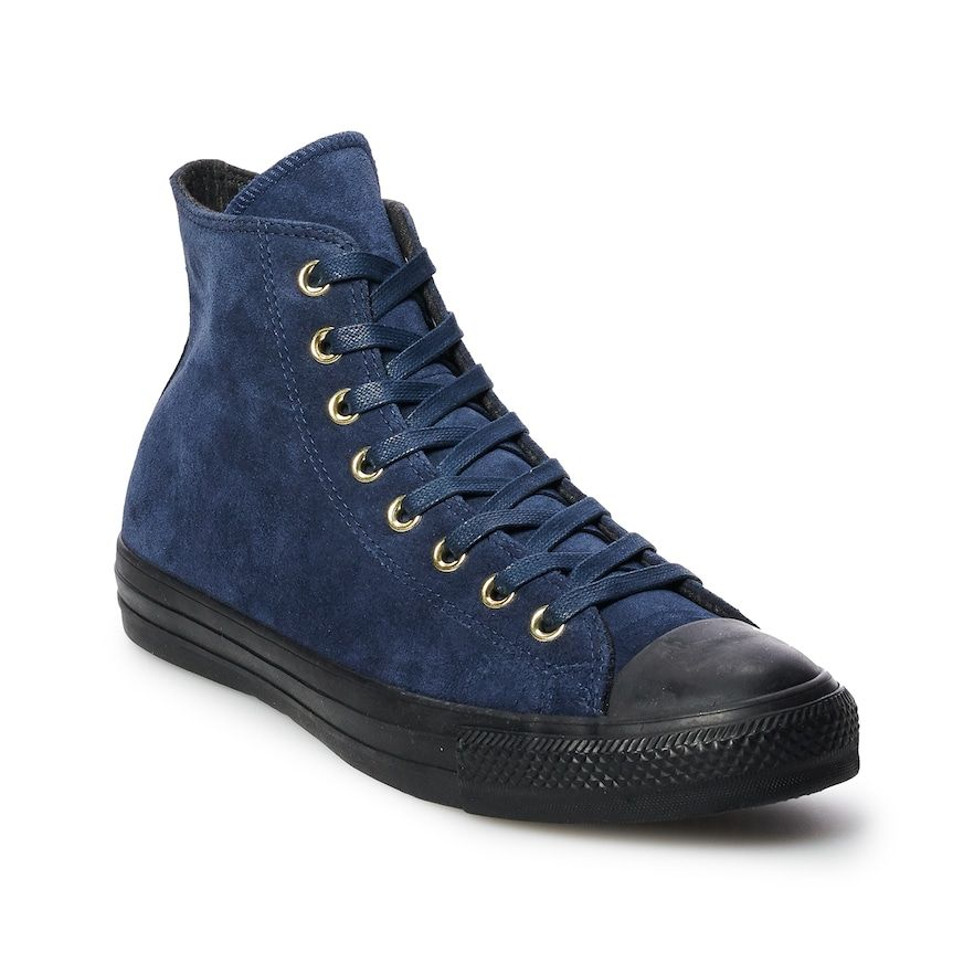 22413c85aae3e0 Men s Converse Chuck Taylor All Star Suede High Top Shoes