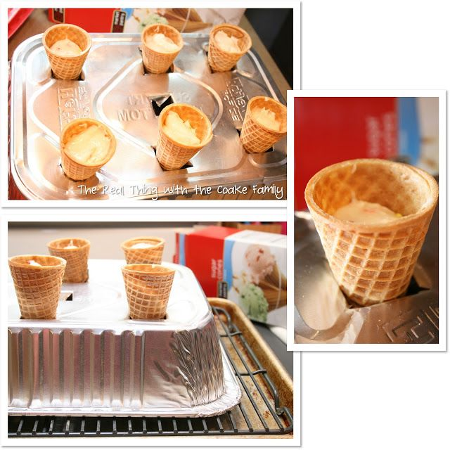 Sugar Cone Cupcake Baking The Easy Way Tutorial With Images
