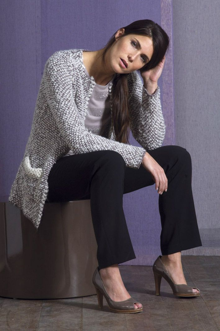 Veste Et Silhouette Une Frais Féminine Très Souple Chic Look Pour 8wHB7Fq