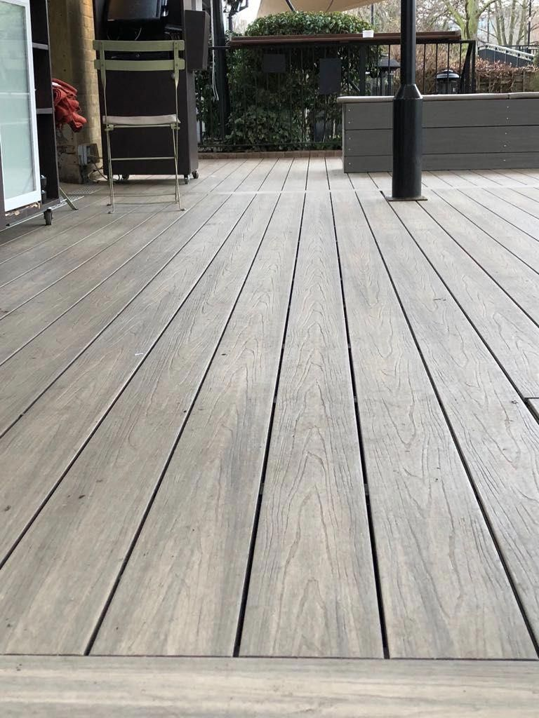 Composite decking | Building a deck, Deck installation, Composite decking