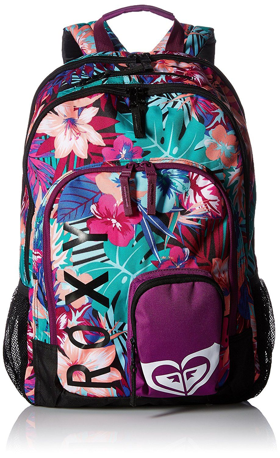 venta directa de fábrica colores y llamativos sitio autorizado Amazon.com: Roxy Women's Noble Trek Backpack, True Black ...