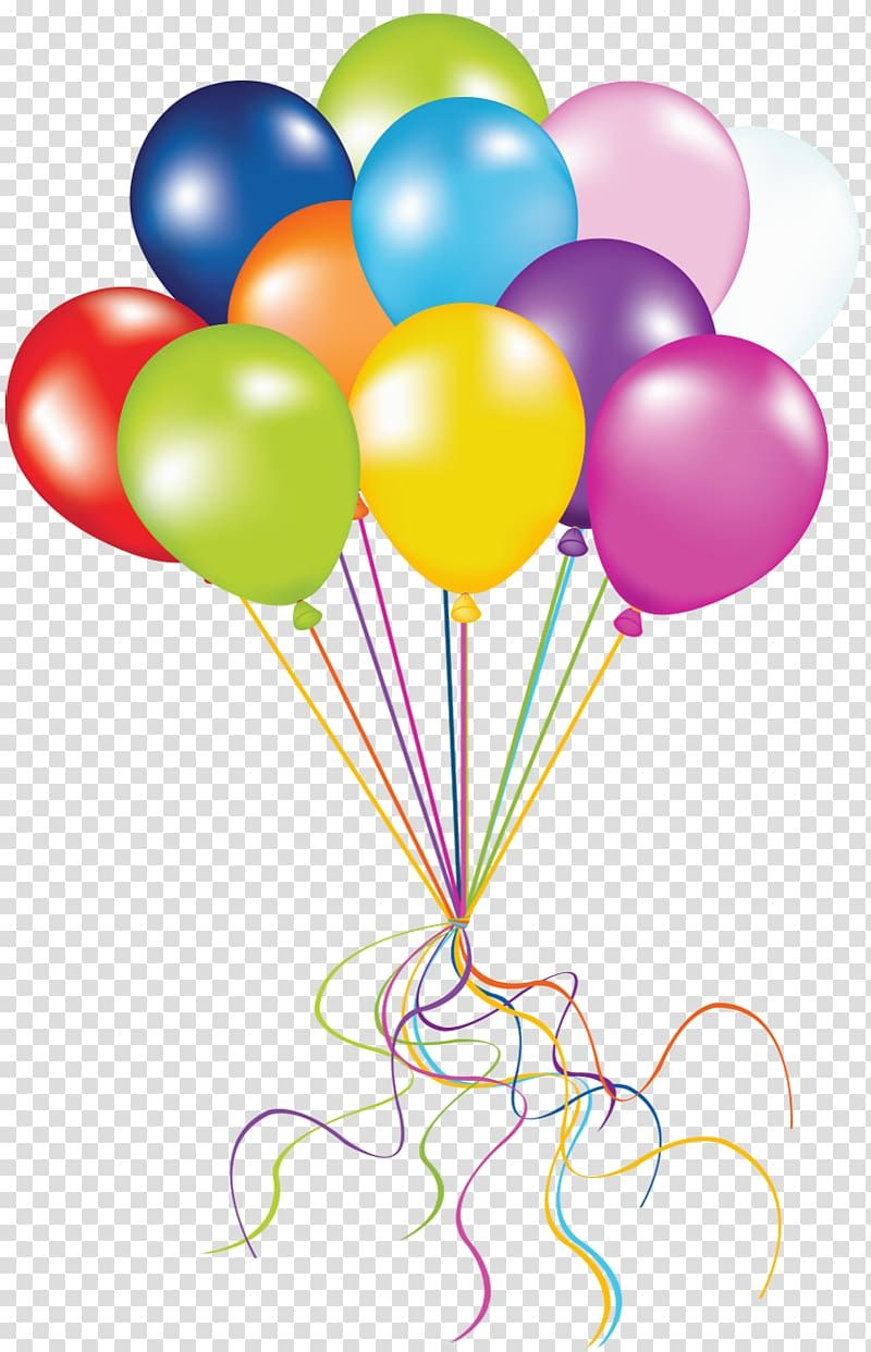 Birthday Balloons Clipart Png In 2020 Birthday Balloons Clipart