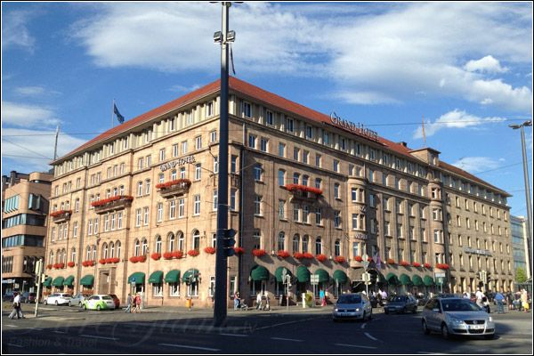 Beautiful Le Meridien Grand Hotel Nurnberg Near Main Station