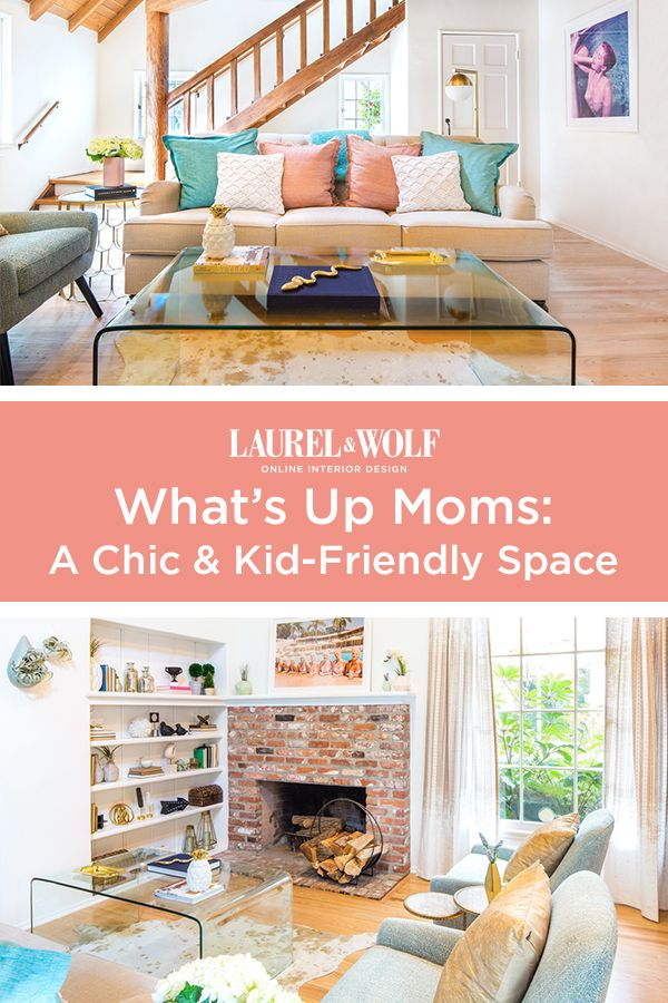 Meet the Client: What\'s Up Moms | Numb, Wolf design and Living rooms