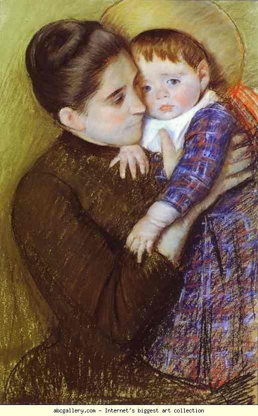 Hélène de Septeuil by Mary Cassatt.