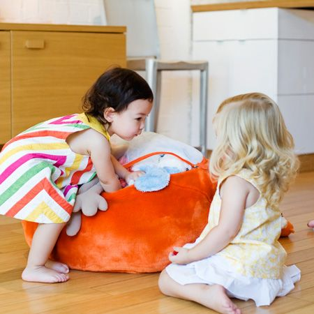 The Boon Animal Bag. BEST Stuffed Animal Storage EVER. Perfect Little  Cushion When The