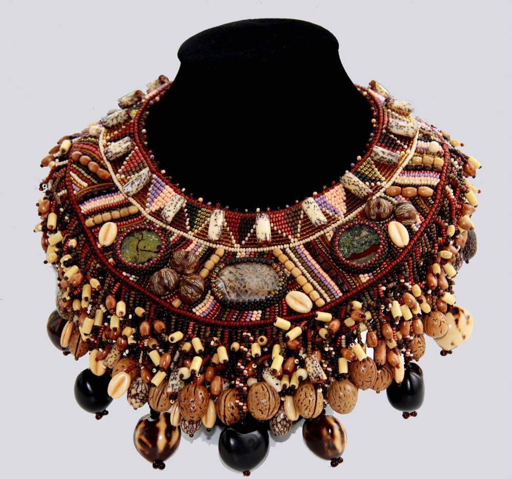 Design of the day - necklace Dagomea by Anna Dyuburg | Beads Magic