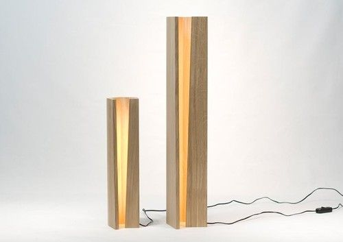 """Elagone"" Wooden LED Lamp"