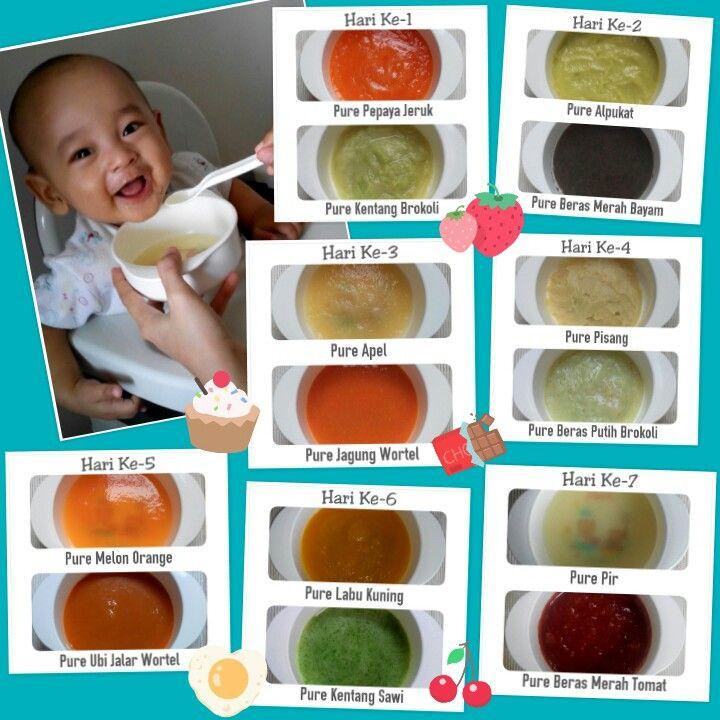 Mpasi 6bulan Makanan Sehat Balita Makanan Bayi Resep Makanan Bayi