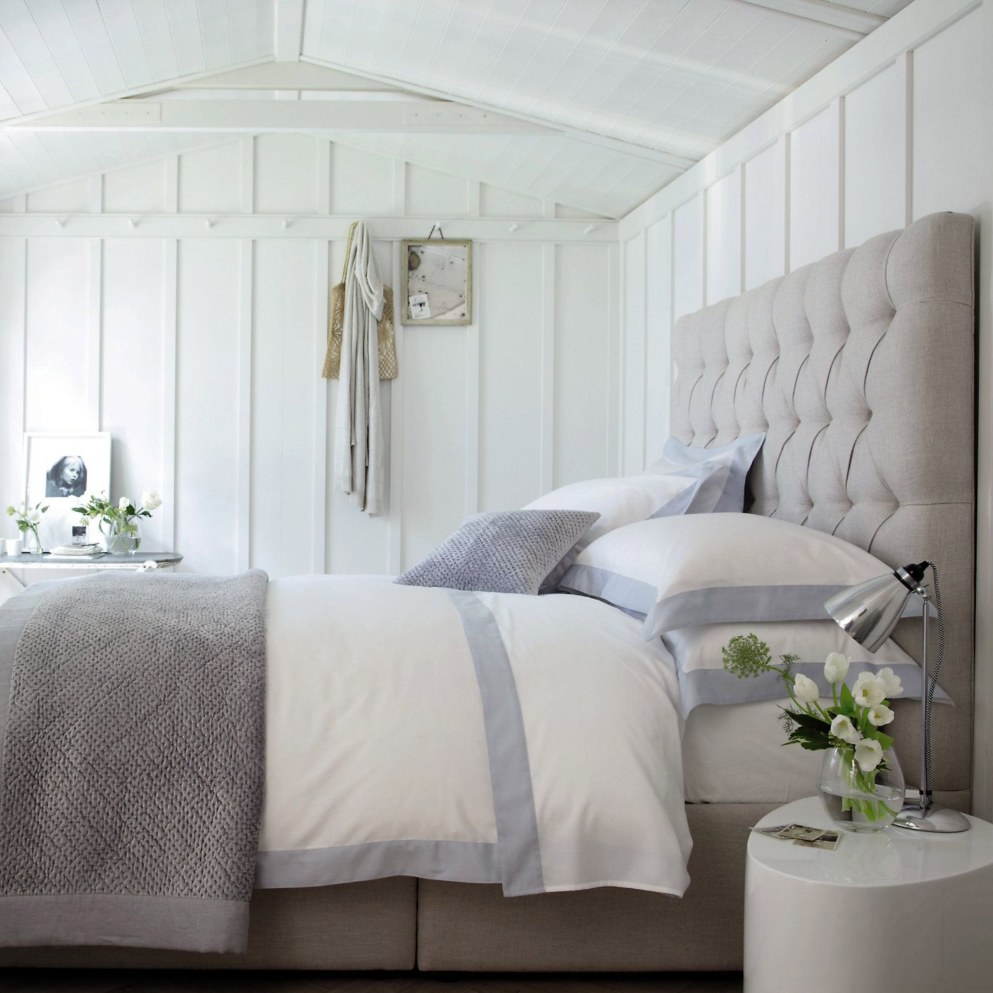 Genoa Bed Linen Collection From The White Company