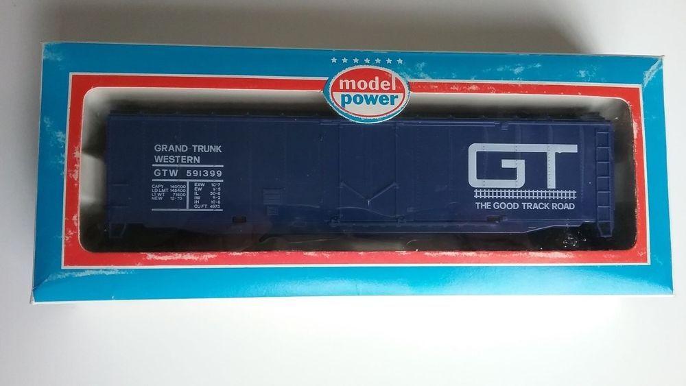 HO life like 50' plug door boxcar GT Grand Trunk rd# 591399 mfg