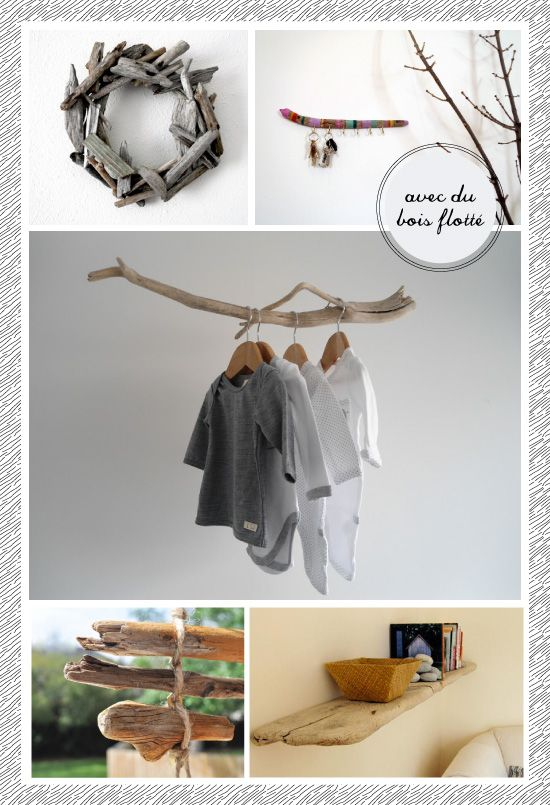 Reste à trouver le bois :) DIY driftwood PLUMETIS | For the Home ...